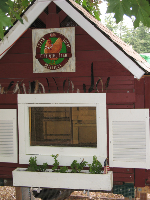 City Girl Farm Sign