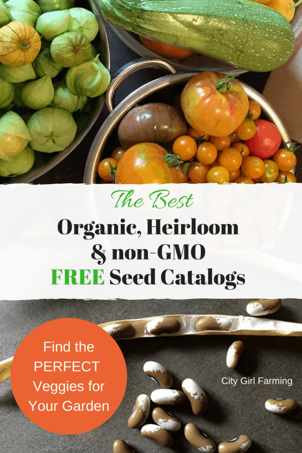 Get the best, non-gmo, heirloom, organic seed catalogs delivered to you for free so you can start planning your summer garden!