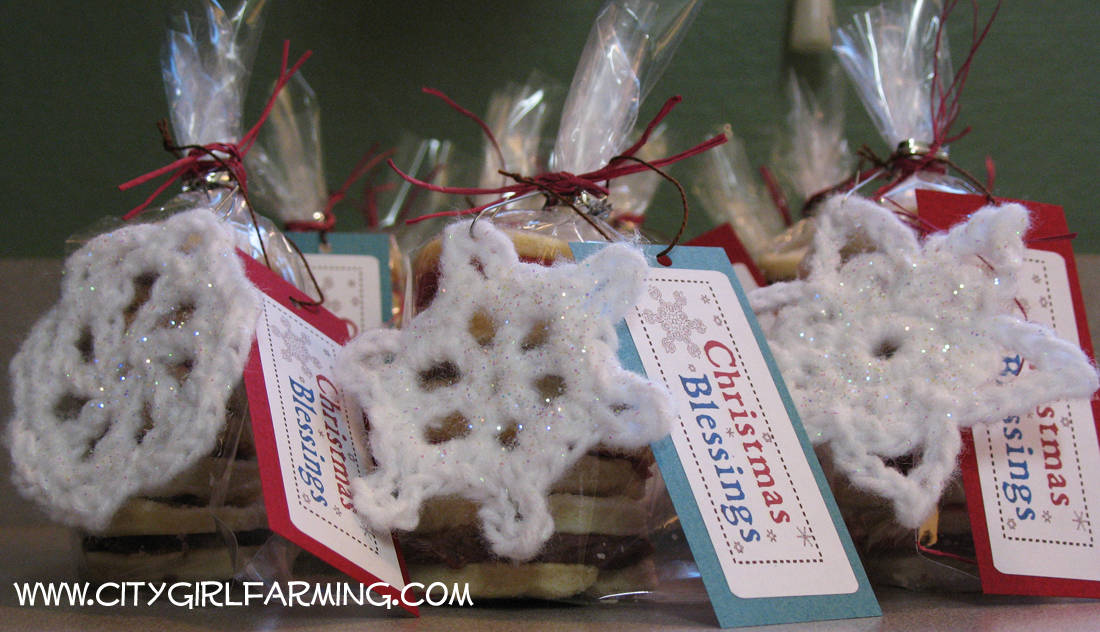 Snowflakes and Cookies (On a Zero Budget)