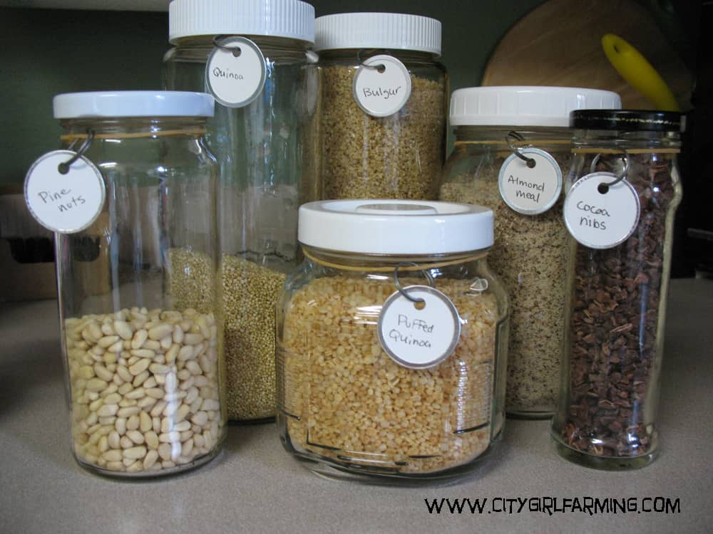 DIY Kitchen Labeling Made Super Simple - City Girl Farming