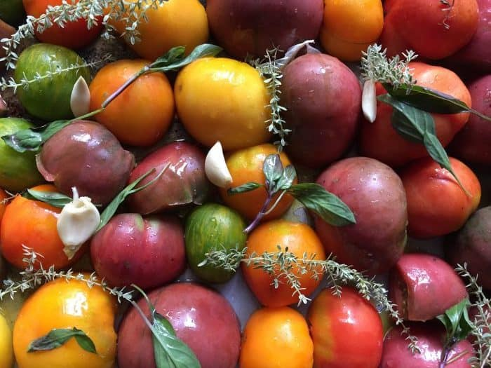 You don't have to can your homegrown tomatoes to get fresh, homegrown taste year around! Here are 8 variations on simple ways of preserving your tomatoes to enjoy all winter long!