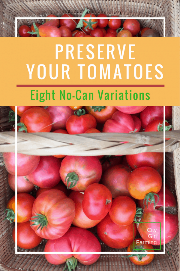 Preserve Your Tomatoes