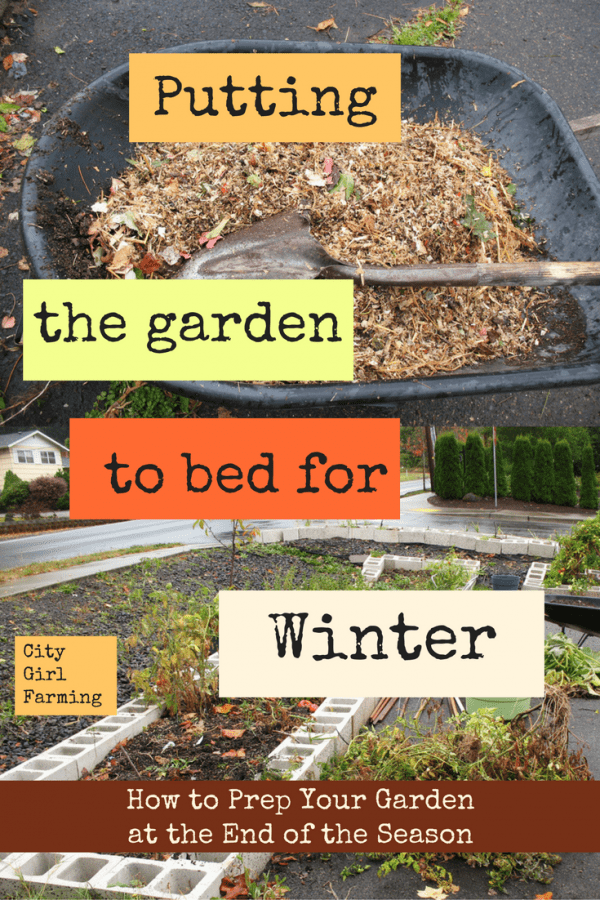 Winter Prep (Part 1:  The Garden)