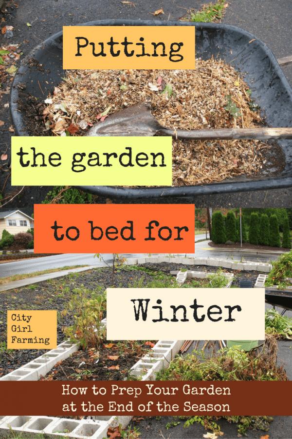 Winter Prep (Part 1:  The Garden)