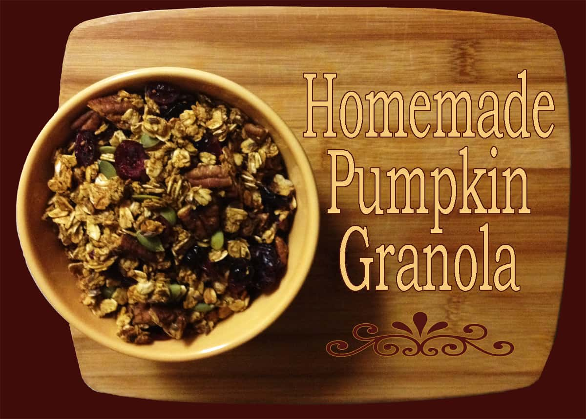 Pumpkin Granola | City Girl Farming
