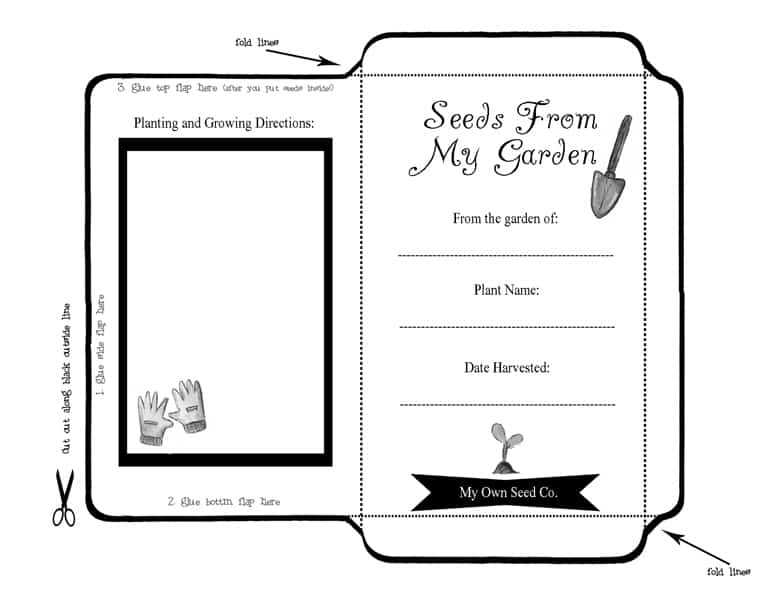 Free Seed-Saver Envelope Download