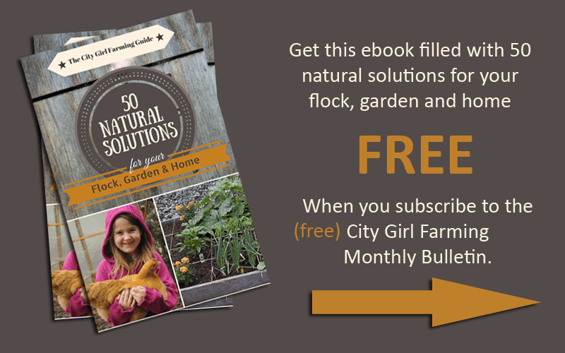50 natural solutions for your flock, garden and farm! Free ebook!