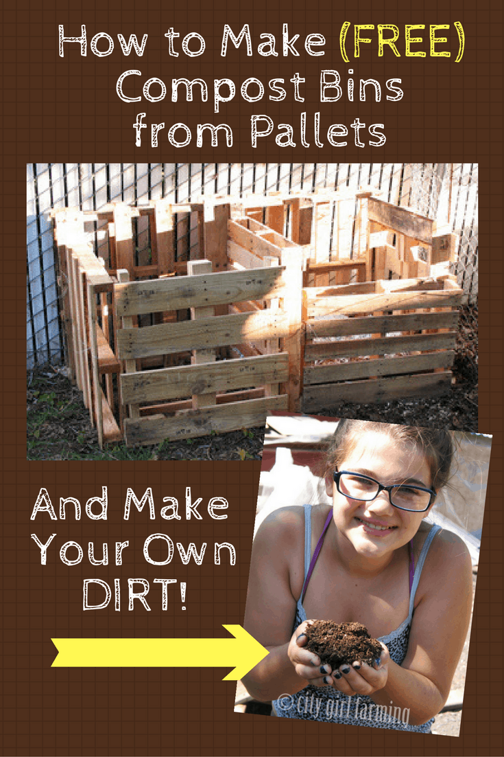 How to Make a (free) Compost Bin