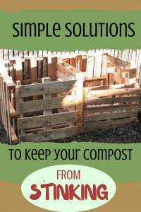 Control Compost Odor