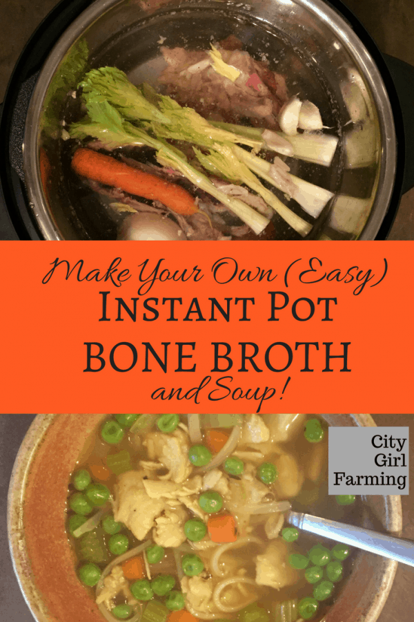 Making bone broth just got easier with the Instant Pot. Here's how to make it in almost no time flat!