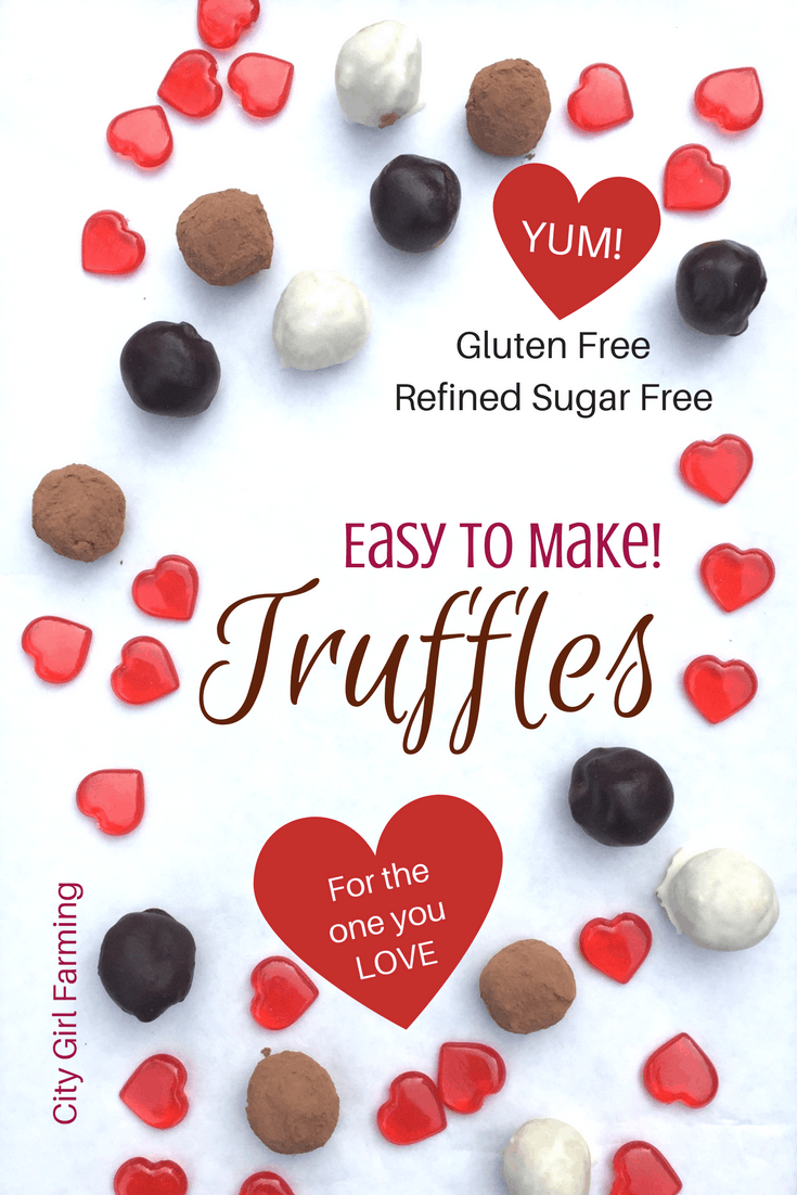 Wonder how to make truffles that are tasty AND not filled with sugar and other bad for you ingredients? You've found your answer right here! Here's three different truffles that are sure to please both the taste buds and the health of your body! And they're also easy to make! Yay!