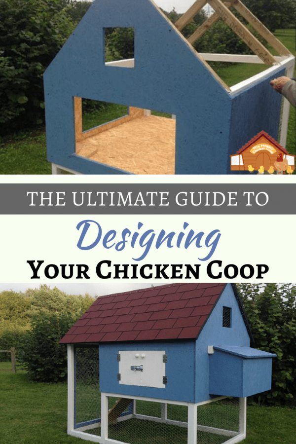 This ultimate guide to building a chicken coop will walk you through how to design the perfect chicken coop; from building materials through to ventilation guidance I've got it all covered.