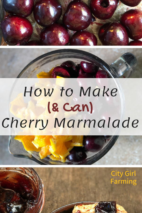 How to Make Fresh Cherry Marmalade