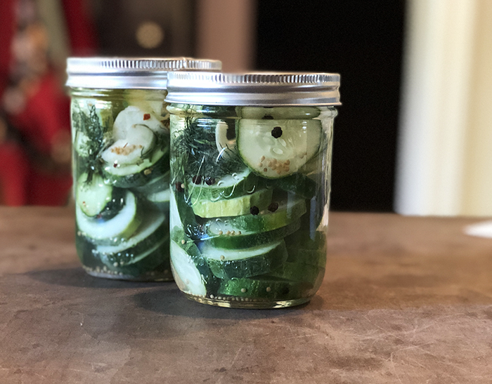 Homemade pickles are delicious. And no-fail refrigerator pickles are fast to make, addictive to eat, and beat the store bought pickles hands down. If you have a handful of fresh cucumbers, a few other ingredients and 5 minutes of time, you're all set to make the best pickles EVER. Ready to get started?